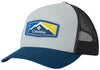 Trail Evolution II Snap Back Hat Cool Grey, Petrol Blue Patch  Hats Columbia - Hook 1 Outfitters/Kayak Fishing Gear