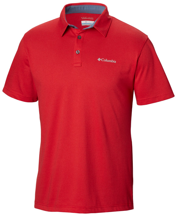 Thistletown Ridge Polo Mountain Red / L Tops Columbia - Hook 1 Outfitters/Kayak Fishing Gear