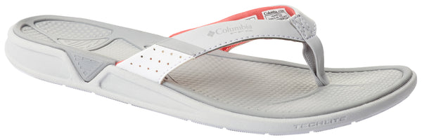 Columbia Women's ROSTRA™ PFG Grey Ice, Red C / 7 Footwear Columbia - Hook 1 Outfitters/Kayak Fishing Gear