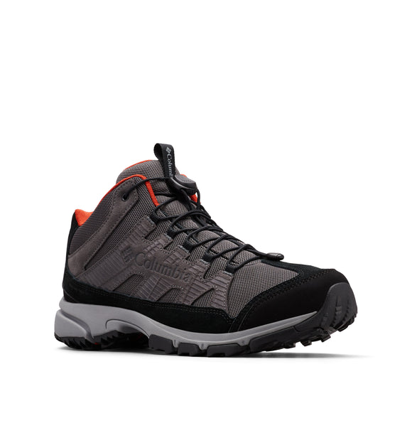 FIVE FORKS™ MID WP Dark Grey, Flame / 9 Footwear Columbia - Hook 1 Outfitters/Kayak Fishing Gear