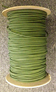 "Bungee / Shock Cord 1/8"" Olive  Bungee/Deck Line/Webbing Other - Hook 1 Outfitters/Kayak Fishing Gear"
