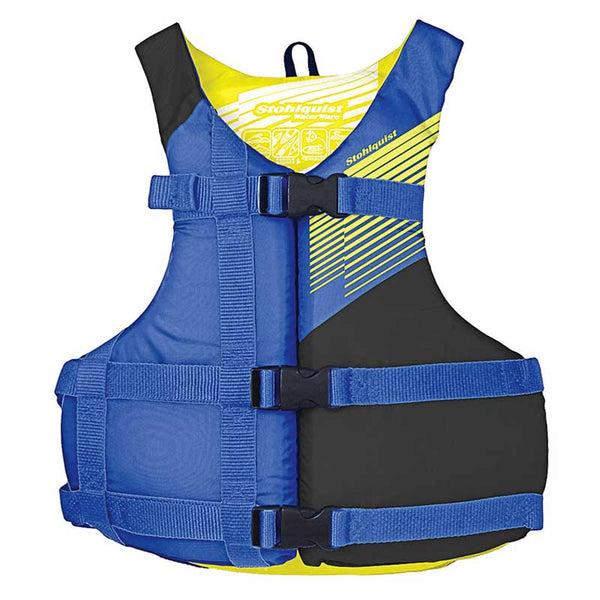 Stohlquist Fit Blue / Universal Life Jackets - PFDs and FLOTATION Stohlquist - Hook 1 Outfitters/Kayak Fishing Gear