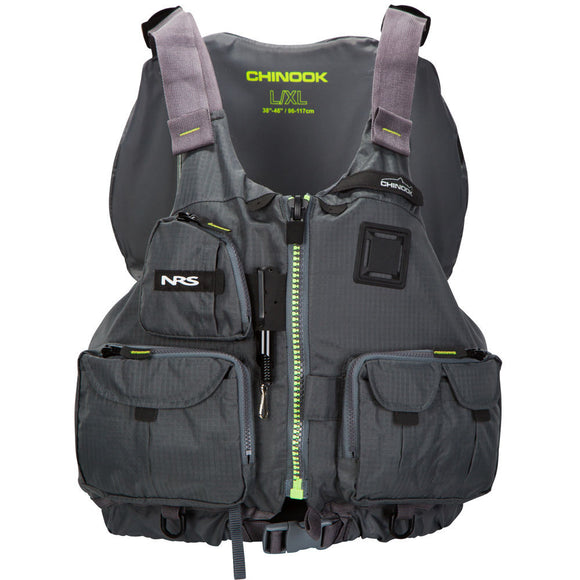 Chinook PFD - Discontinued  Life Jackets - PFDs and FLOTATION NRS - Hook 1 Outfitters/Kayak Fishing Gear