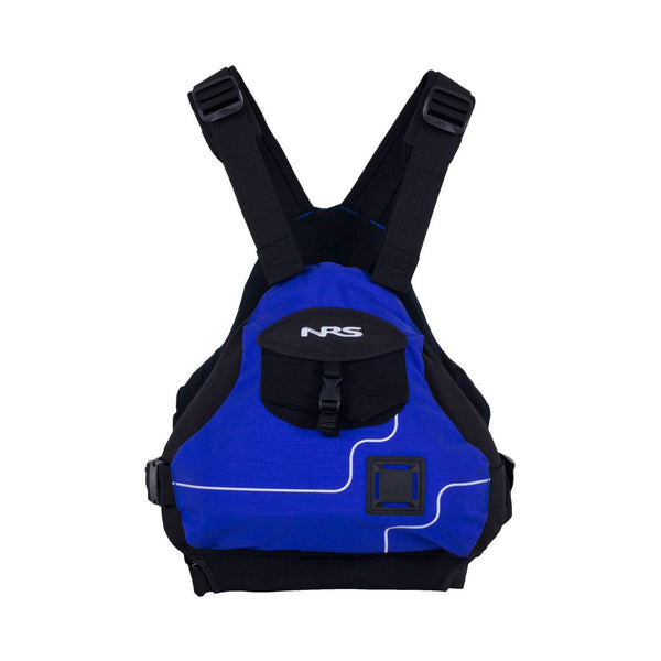 NRS Ninja PFD - CLOSEOUT Blue / S/M Life Jackets - PFDs and FLOTATION NRS - Hook 1 Outfitters/Kayak Fishing Gear