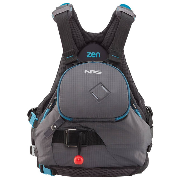 2020 NRS Zen Rescue PFD Charcoal/Teal / S/M Life Jackets - PFDs and FLOTATION NRS - Hook 1 Outfitters/Kayak Fishing Gear