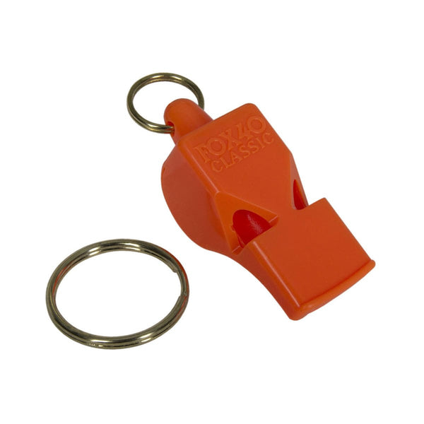 Fox 40 Safety Whistle Orange Safety NRS - Hook 1 Outfitters/Kayak Fishing Gear