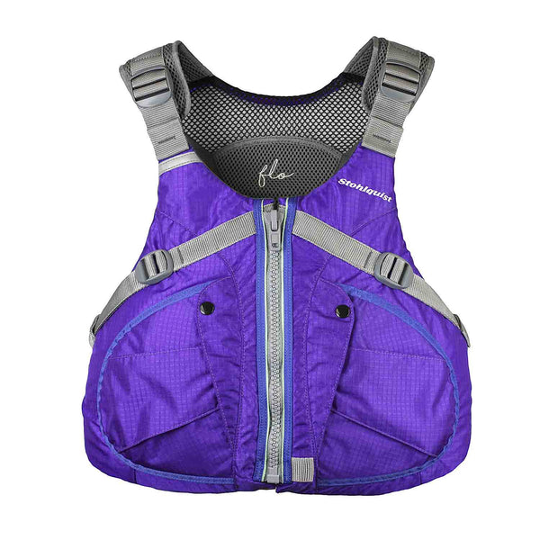 Flo XS/S / Purple Life Jackets - PFDs and FLOTATION Stohlquist - Hook 1 Outfitters/Kayak Fishing Gear