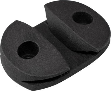 Black Nylon Open Base Cleat 1 Pair Sealect Designs 5/""