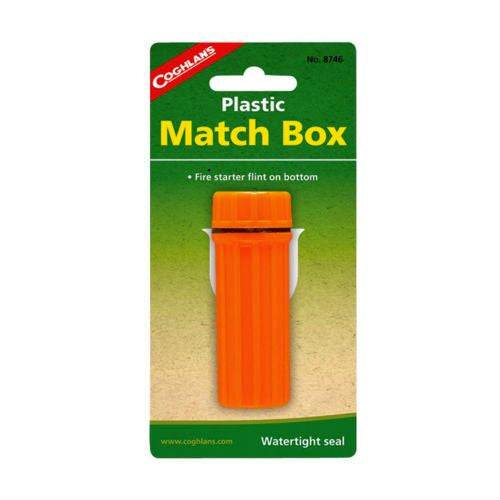 Coghlan's Plastic Matchbox  Survival Coghlan's - Hook 1 Outfitters/Kayak Fishing Gear