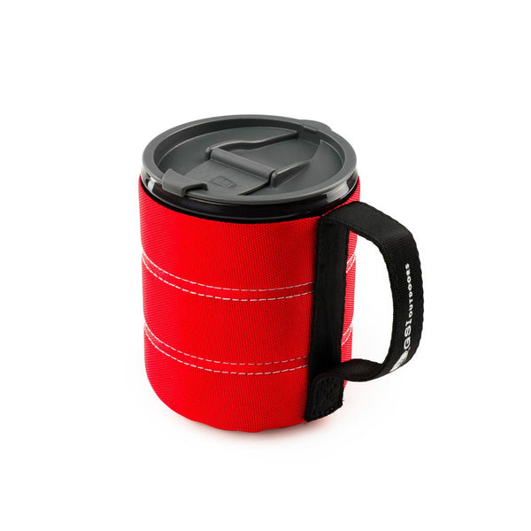 Infinity Backpacker Mug- Red  Mugs GSI - Hook 1 Outfitters/Kayak Fishing Gear