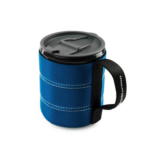 Infinity Backpacker Mug- Blue  Mugs GSI - Hook 1 Outfitters/Kayak Fishing Gear
