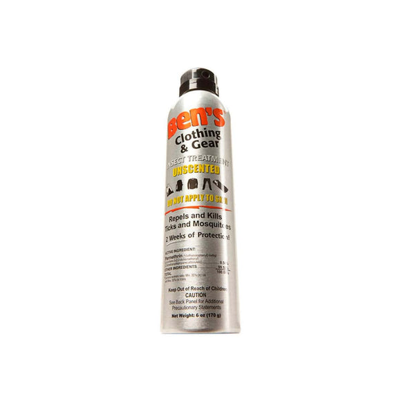 Ben's® Clothing and Gear 6 oz  Insect Repellent Ben's - Hook 1 Outfitters/Kayak Fishing Gear