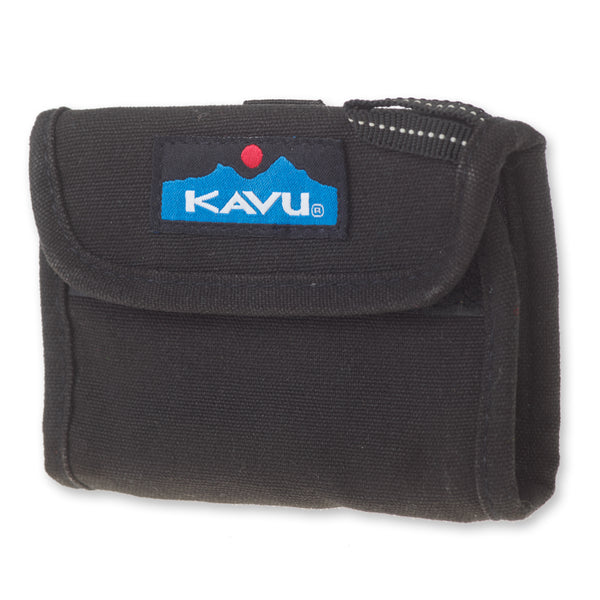 Wally Wallet Black Bags KAVU - Hook 1 Outfitters/Kayak Fishing Gear