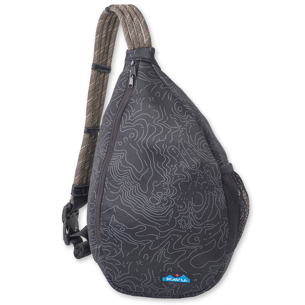 Saxton Pack Black Topo Bags KAVU - Hook 1 Outfitters/Kayak Fishing Gear