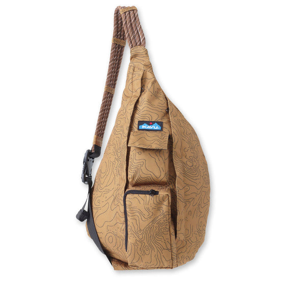 Rope Sling - CLOSEOUT Tan Topo Bags KAVU - Hook 1 Outfitters/Kayak Fishing Gear