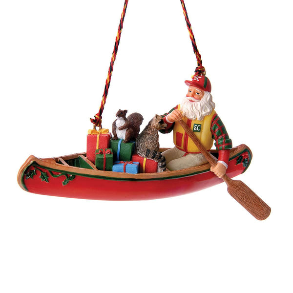 Canoe Santa Decoration  Home Décor GSI - Hook 1 Outfitters/Kayak Fishing Gear