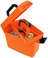 Attwood Dry Storage Box - Orange Water-Resistant  Marine Attwood - Hook 1 Outfitters/Kayak Fishing Gear