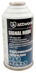 Attwood Signal Horn Refill - 8Oz Refill  Marine Attwood - Hook 1 Outfitters/Kayak Fishing Gear
