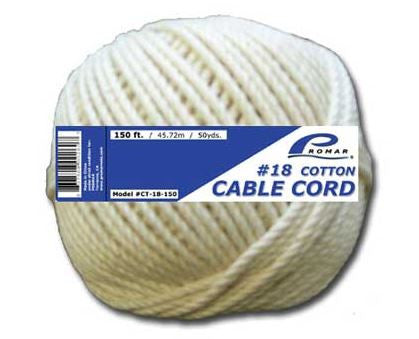 American Maple Cotton Twine  Line - Lead Core/Fnsh/Trotline American Maple - Hook 1 Outfitters/Kayak Fishing Gear