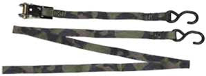 Allen Ratchet Straps - Camo  Camping Allen - Hook 1 Outfitters/Kayak Fishing Gear