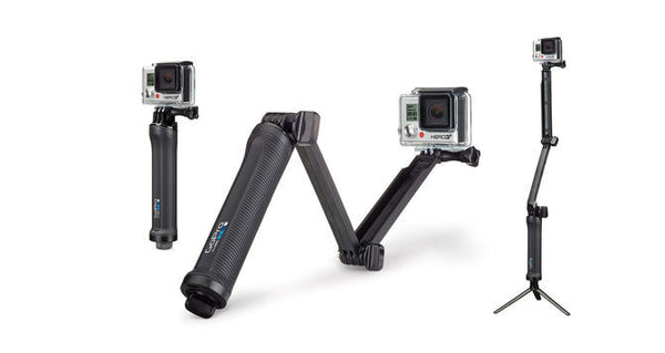 GoPro 3-Way  Camera and Accessories GoPro Cameras - Hook 1 Outfitters/Kayak Fishing Gear