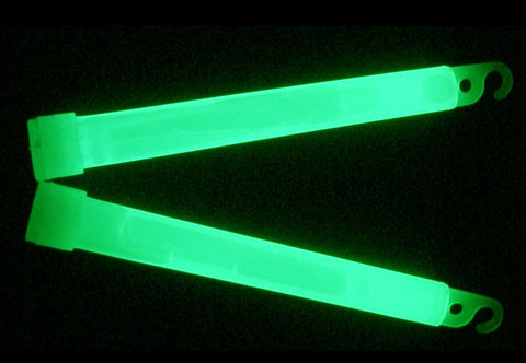 American Maple Glow Stick - 6In Green