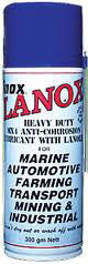 Inox Mx4 Lanox Lanolin Lub - 300G Aerosol Can  Marine Inox - Hook 1 Outfitters/Kayak Fishing Gear
