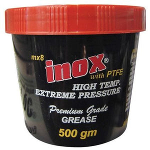 Inox Mx8 Hi Temp Htfe Grease - 500G Tub For Packing Bearings  Marine Inox - Hook 1 Outfitters/Kayak Fishing Gear