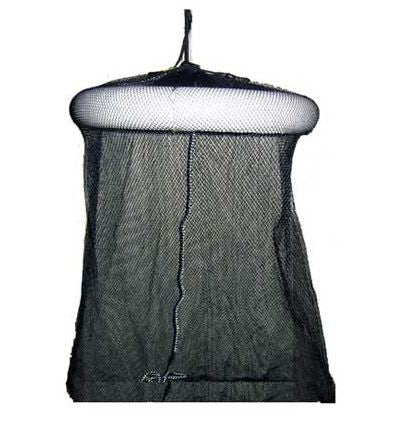 American Maple Wade Fish Net - 18X28 Single Ring Blk Netting