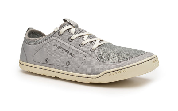 Men's Loyak Gray/White / 8 Footwear ASTRAL - Hook 1 Outfitters/Kayak Fishing Gear
