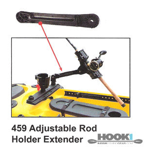 Scotty Adjustable Extender #459  Scotty Mounts Scotty - Hook 1 Outfitters/Kayak Fishing Gear