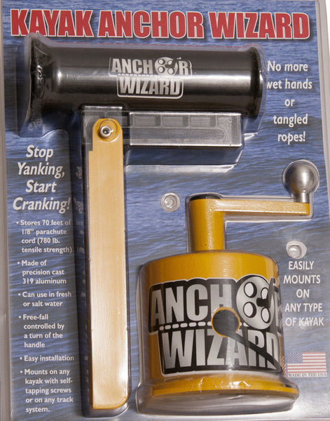 Anchor Wizard - Kayak Anchoring System  Anchoring and Accessories Abu Garcia - Hook 1 Outfitters/Kayak Fishing Gear
