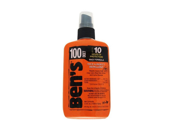 Bens Insect Repellent - 100 Max Pump 1.25Oz  Camping Ben's - Hook 1 Outfitters/Kayak Fishing Gear
