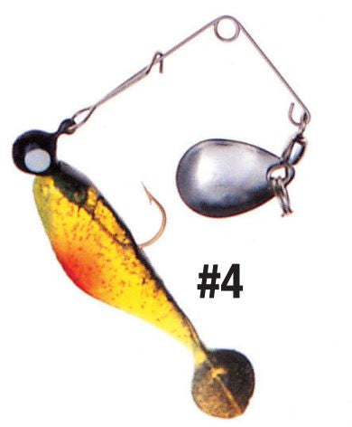 Betts Pogy Shad Spin Nick  Lures - Spinnerbaits/Buzzbaits Bett's - Hook 1 Outfitters/Kayak Fishing Gear
