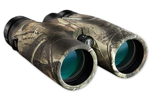 Bushnell Powerview Binoculars - 10X42 Realtree Ap-Hd Camo  Optics Bushnell / Simmons - Hook 1 Outfitters/Kayak Fishing Gear