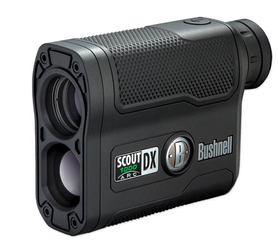 Bushnell Laser Rangefinder - Scout Dx 1000 Arc 6X21 Black  Optics Bushnell / Simmons - Hook 1 Outfitters/Kayak Fishing Gear