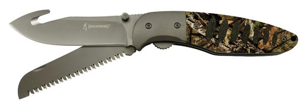 Browning Folding Knife - Hunt-N-Gut Mobuc  Cutlery/Tools Browning - Hook 1 Outfitters/Kayak Fishing Gear
