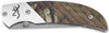 Browning Folding Knife - 5672B Prism Ii Moinf  Cutlery/Tools Browning - Hook 1 Outfitters/Kayak Fishing Gear