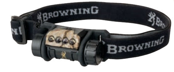 Browning Headlamp - Epic Aa Black/Camo  Lights/Batteries Browning - Hook 1 Outfitters/Kayak Fishing Gear