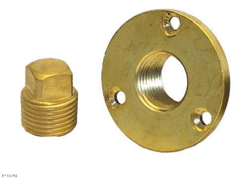 Boater Sports Garboard Plug Ki - Brass Drain & Plug  Marine Boatersports - Hook 1 Outfitters/Kayak Fishing Gear