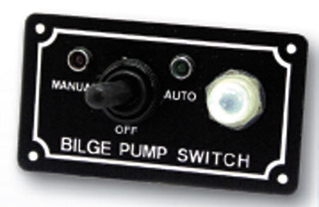 Boater Sports Bilge Switch - 3-Way 10Amp Bilge Pump Switch  Marine Boatersports - Hook 1 Outfitters/Kayak Fishing Gear