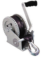 Boater Sports Boat Winch - 1200Lb W/Strap Edc Coated  Marine Boatersports - Hook 1 Outfitters/Kayak Fishing Gear