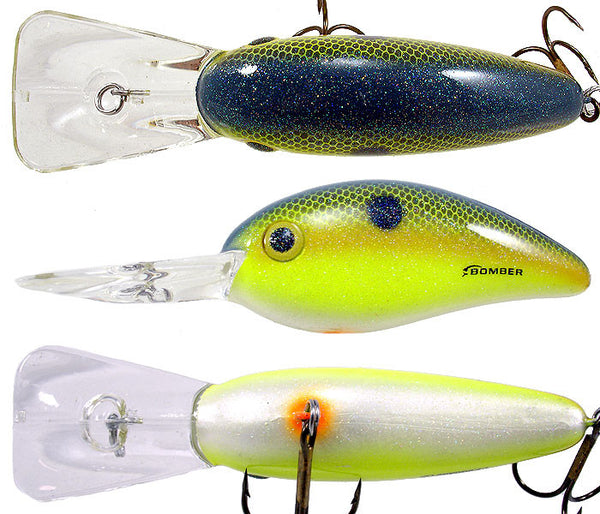 Bomber Sq Lip Fat Free Sh  Lures - Hard Baits Bomber - Hook 1 Outfitters/Kayak Fishing Gear