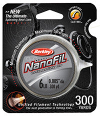 Berkley Nanofil Spinning Line  Line - Mono Berkley - Hook 1 Outfitters/Kayak Fishing Gear