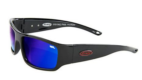 Berkley Polorized Sunglasses - Frying Pan Gloss Blk/Smk Blue  Eyewear/Accessories Berkley - Hook 1 Outfitters/Kayak Fishing Gear