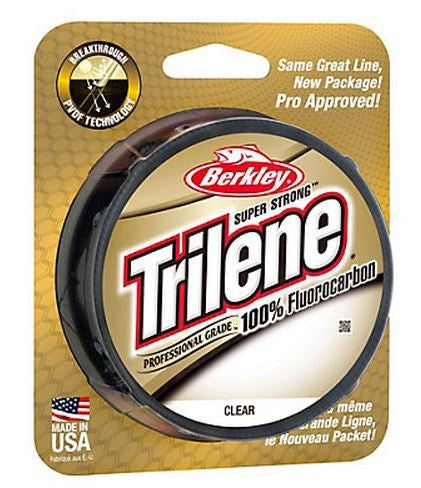 Berkley Trilene 100% Fluorocar  Line - Mono Berkley - Hook 1 Outfitters/Kayak Fishing Gear