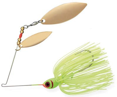 Booyah Double Willow Spinbait  Lures - Spinnerbaits/Buzzbaits Booyah - Hook 1 Outfitters/Kayak Fishing Gear