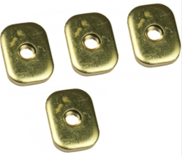 Brass Plates  Soft Baits Mad Frog Gear - Hook 1 Outfitters/Kayak Fishing Gear