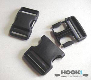 "Buckle Clips - 1-1/2"" (2)  Hardware & Small Parts Other - Hook 1 Outfitters/Kayak Fishing Gear"