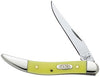 Case Knife Yellow Handle